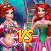 Princess Vs Mermaid