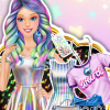 Barbie's Futuristic Outfit