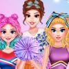 Princess Cheerleader Look