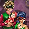 Dotted Girl Family Christmas