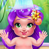 Mermaid Baby Bath