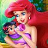 Mermaid Baby Feeding