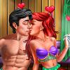 Mermaid Sauna Flirting