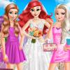 Mermaid Princess Wedding Day