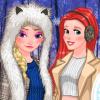 Princeses Winter Photoshoot