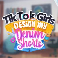 TikTok Girls Design My Denim Shorts