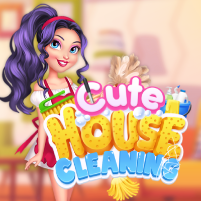 Cute House Cleaning