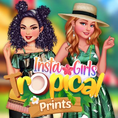 Insta Girls Tropical Prints