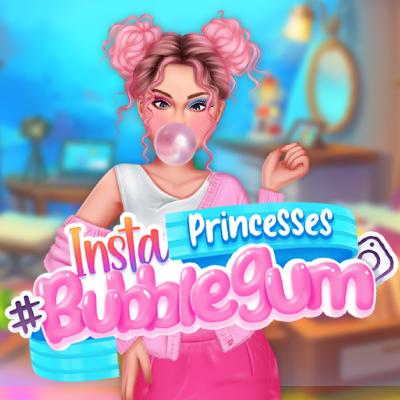Insta Princesses #bubblegum