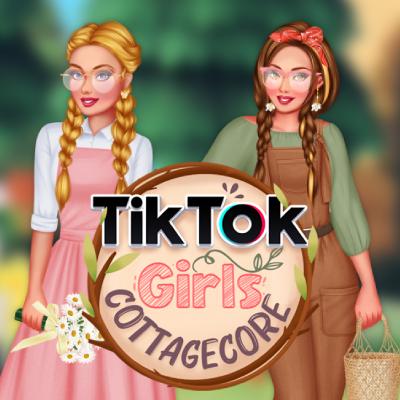 TikTok Girls Cottagecore