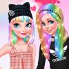 Princesses Pastel Hairstyles