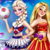 Eliza And Chloe Football Rivals