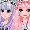 Frozen Sisters Go Pastel Goth