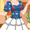 Snow White's Patchwork Dress