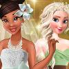 Tiana's Spring Green Wedding